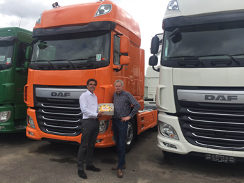 Loven Trucks Order2Cash celebration