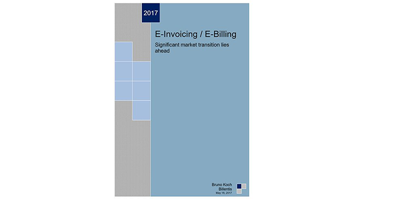 Billents 2017 e-invoicing report