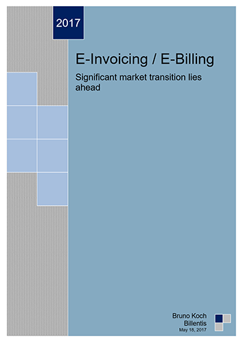 2017 Billentis e-Invoicing report