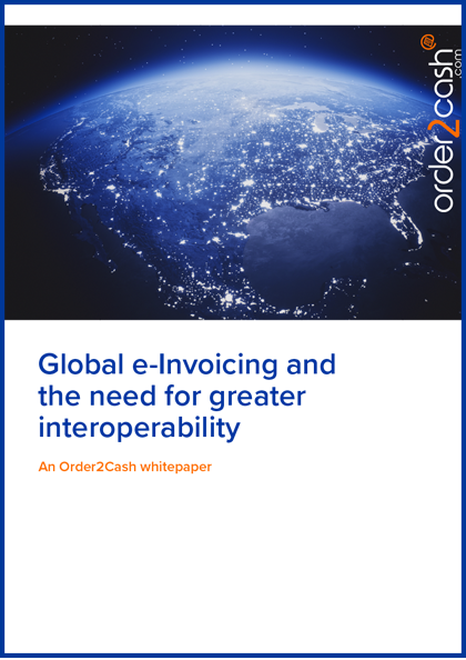 Global e-Invoicing B2G Whitepaper cover image
