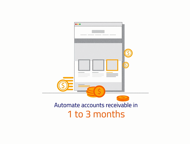 Automate Accounts Receivable in 1-3 months