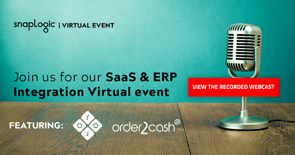 SaaS applications and ERP integration webcast